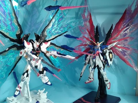 1/100 MG Destiny/Strike Freedom Wings Expansion Effect Review
