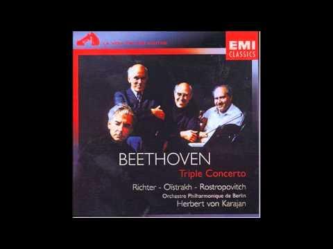 Beethoven - Triple Concerto (Richter - Oïstrakh - Rostropovitch)