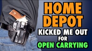 Kicked Out of Home Depot for Carrying(, 2016-04-03T14:00:00.000Z)