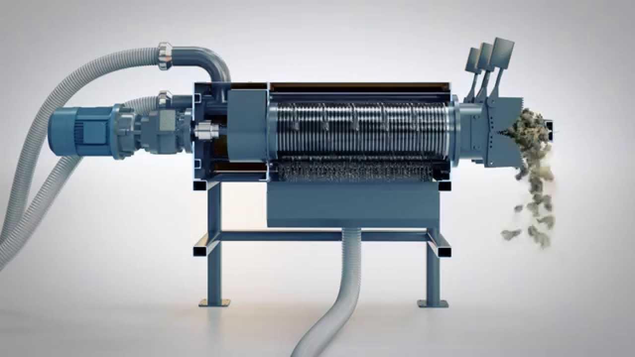Milston E2 Slurry Separator - YouTube