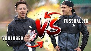 EXTREME YOUTUBER vs FUßBALLER CHALLENGE