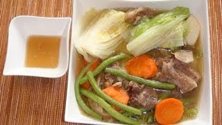 Pinoy Recipe - Nilagang Baka [beef Soup With Vegetables]