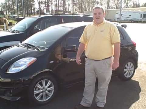 2009 Toyota Yaris Sport Black #23856