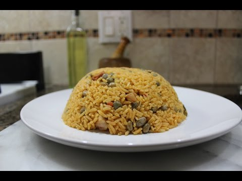 How To Make Puerto Rican Arroz Con Gandules