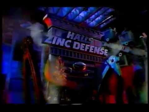 Halls Zinc Defense commercial, 1997