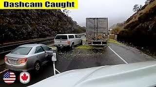 Ultimate North American Cars Driving Fails Compilation - 189 [Dash Cam Caught Video]