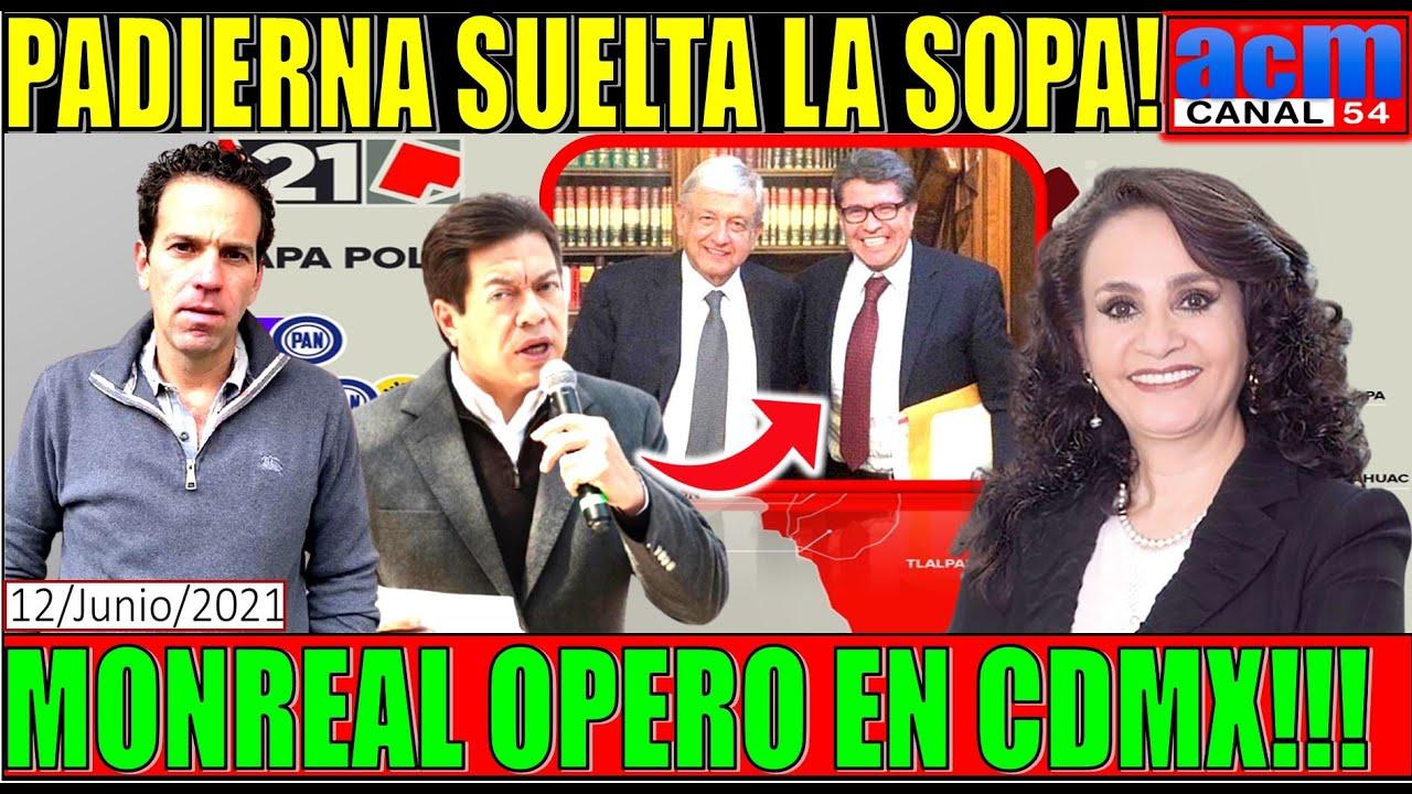 MONREAL OPERÓ PARA CLAUDIOS EN CDMX, EN SERIO!!! EL MENSAJE ES CLARO, DELGADO DICE QUE NO SABE NADA!