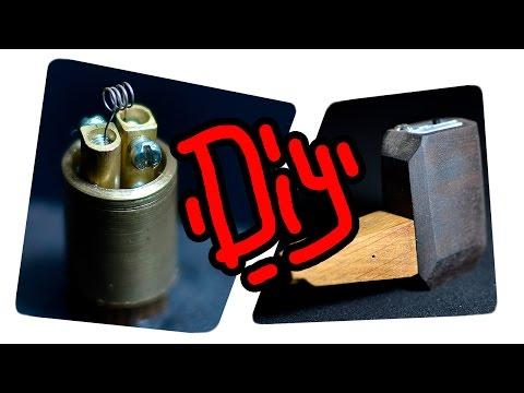 Простая электронная сигарета своими руками / DIY / Simple handmade vaporizer