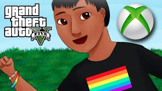 Xbox Boyfriend on GTA 5 (Gay Kid Voice Trolling Online)
