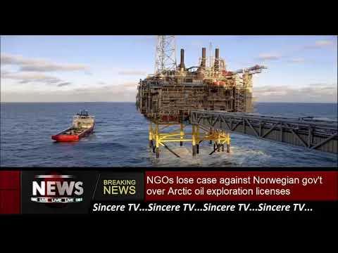 NGOs lose case against Norwegian gov't over Arctic oil exploration licenses