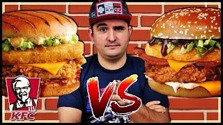 TOWER TEXAS BBQ VS LOUISIANE ZINGER !! (dégustation KFC)