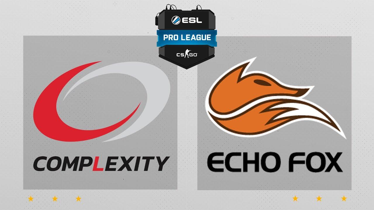 CS:GO - compLexity vs  Echo Fox [Mirage] Map 2 - ESL Pro League Season 4 -  NA Matchday 14