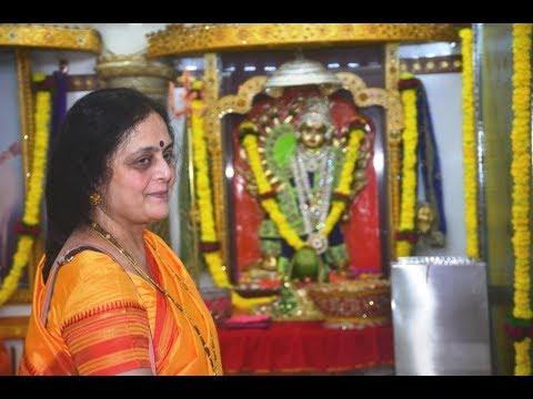 P.P. Nandai at Shree Aniruddha Gurukshetram on the 1st day of the Ashubhanashini Navratri 2017