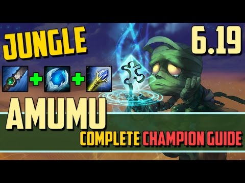 Amumu: Winning the Game With One Button! - League of Legends Champion Guide