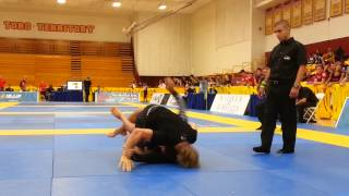 AJ Agazarm vs Eduardo Telles - Black Belt adult Open Class Final - American Nationals NO GI 2013