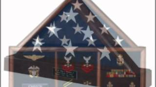 Flag Cases, Flag Display Cases, Military Flag Cases, And American Burial Flag Display Cases