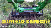 Compact Tractor Attachments Extreme Series Grapple - YouTube