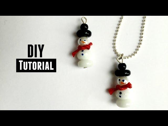 Hoe Maak Je een Sneeuwpop Van Kralen?