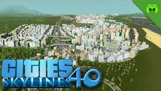 CITIES SKYLINES # 40 - 100K ist das Ziel «» Let