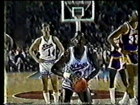 Larry Drew (17pts/14asts) vs. Lakers (1983)