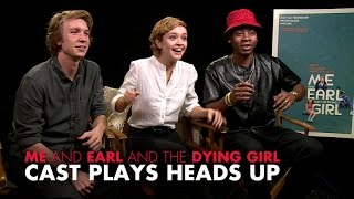 Cast of Me and Earl and the Dying Girl Play Heads Up!