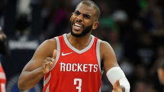 Chris Paul Re-Signs Rockets $160M 4 Year Max Contract! 2018 NBA Free Agency