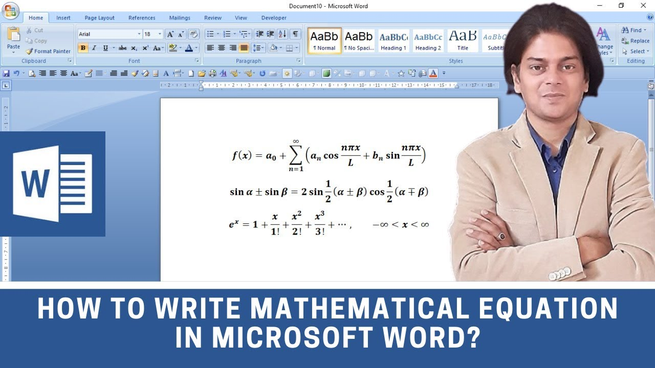 How to write mathematical equation in word how to insert equations how to write mathematical equation in word how to insert equations in word math symbols in word biocorpaavc Image collections