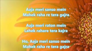 O Hansini - Zehreela Insaan - Full Karaoke with scrolling lyrics
