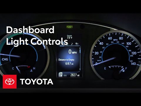 Toyota How-To: Dashboard Light Controls | Toyota