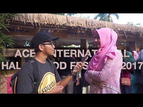 Sosial Eksperimen di AIHFF 2017 (Aceh International Halal Food Festival)