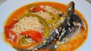 Receita de arroz de sardinha by necasdevaladares
