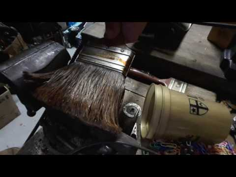 Diy how to soften stiff paint brushes no chemicles