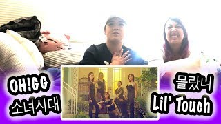 [KPOP REACTION] GIRLS' GENERATION OH!GG 소녀시대 -- LIL' TOUCH 몰랐니