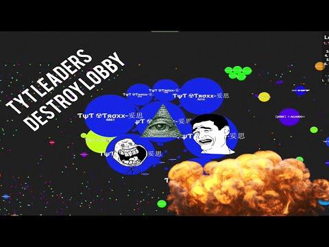 ƬψƬ ☢ TROXX & ƬψƬ ☢ Sirius Splitrunning // Agario Gameplay