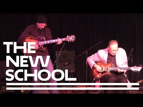 Jazz Presents: Guitar Duos | The New School for Jazz and Contemporary Music