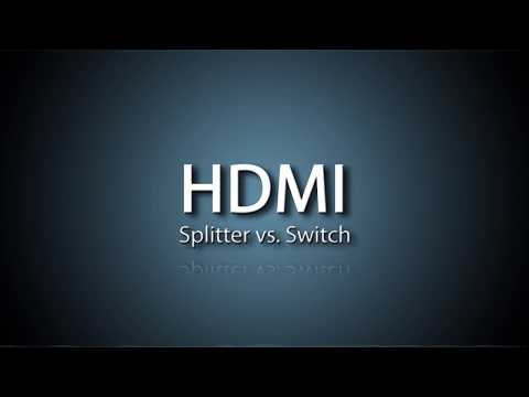 HDMI Splitter vs Switch- What's the difference?