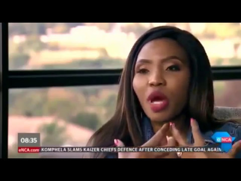 Noma Gigaba (South Africa's finance ministers wife - Gigabyte) - The Tender Interview (Full)