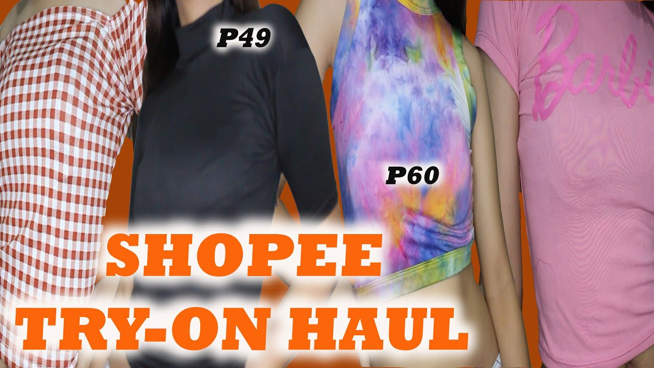 Affordable Shopee Try-on Haul 2020 (everything is under P75!!!) | Marielle Ropa
