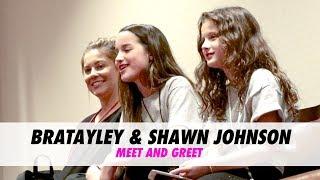 Bratayley & Shawn Johnson Meet and Greet