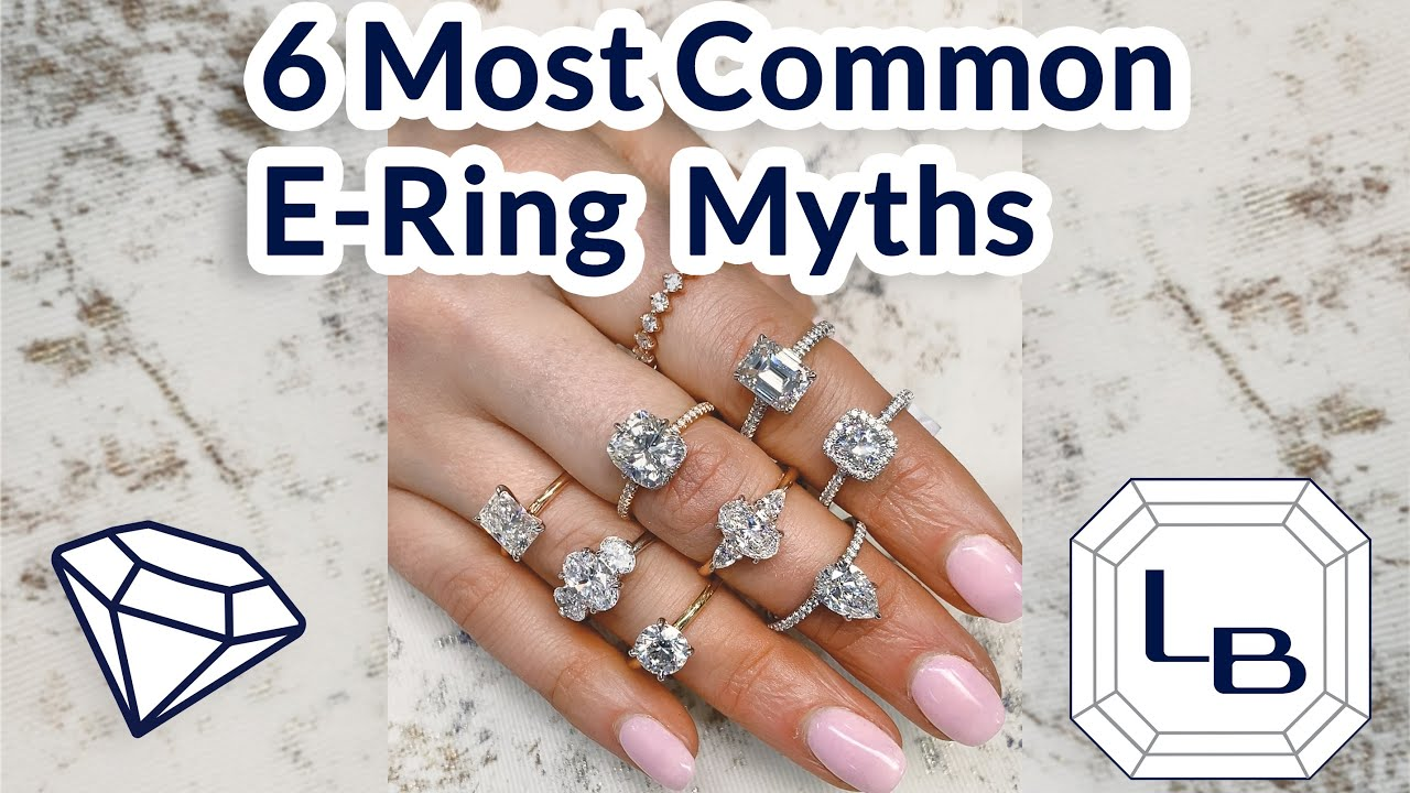 Six Most Common Engagement Ring Conceptions