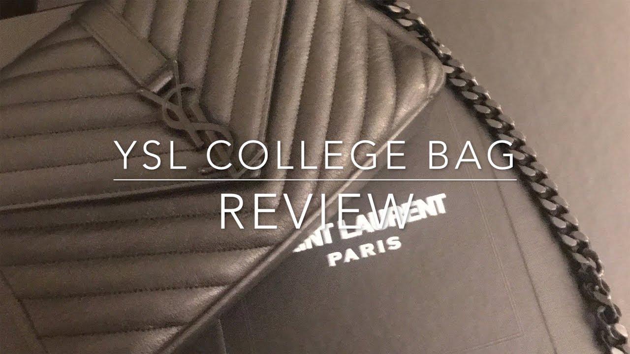 Ysl Saint Laurent Coll 232 Ge Bag Review Wear Amp Tear Youtube