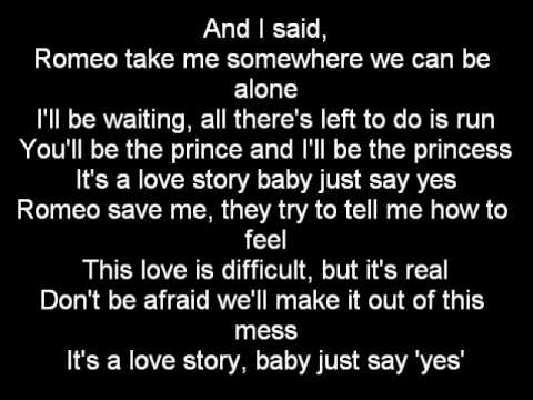 Romeo ft. Taylor Swift - Romeo Save Me LYRICS