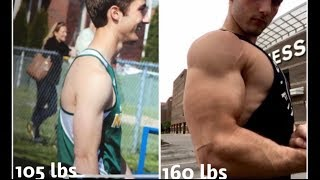 2 Year Natural Body Transformation 17-19 (Bodybuilding/Powerlifting)
