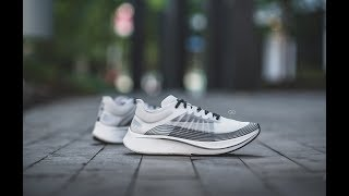 """Review & On-Feet: NikeLab Zoom Fly SP """"White/Black"""""""