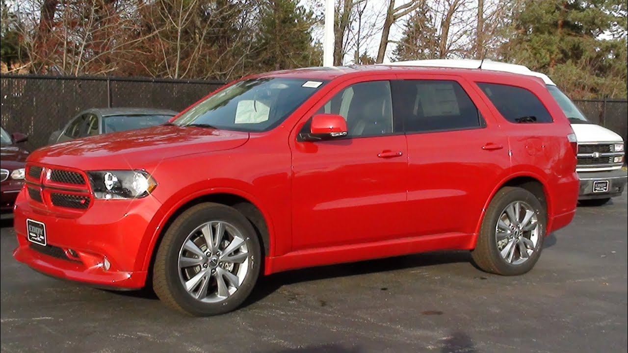 Mvs 2012 Dodge Durango R T Awd Youtube