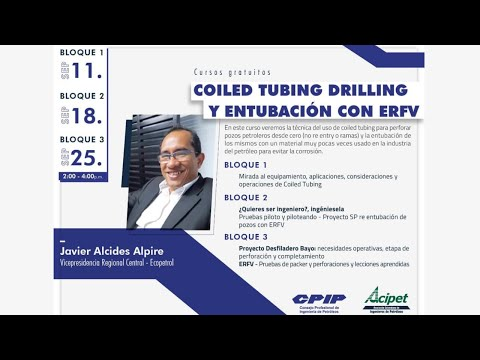 Coiled Tubing Drilling y entubación ERFV - Bloque 3