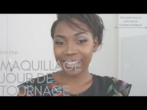 Makeup jour de tournage: featuring artiste Chrétien et mondain?! Mon Avis!- Sandrabyfaith