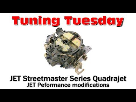 JET Streetmaster Series Quadrajet : Modifications