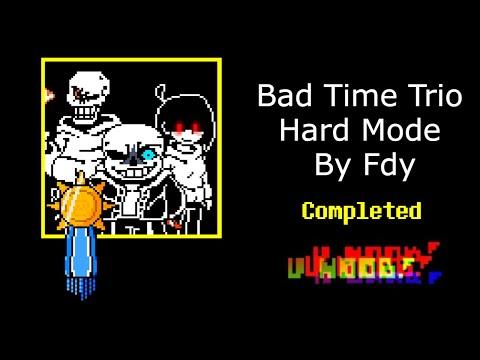 Bad Time Trio Hard Mode FDY (Full Nub Mode)   Trò chơi Undertaker Fang