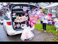 Sophia's Drive-By Unicorn Themed 7th Birthday Party